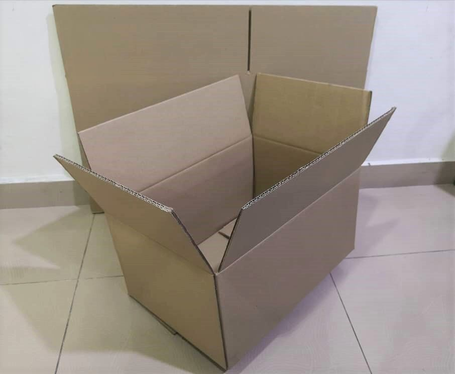 6pcs Plain Carton Boxes (L440 X W309 X H230mm)