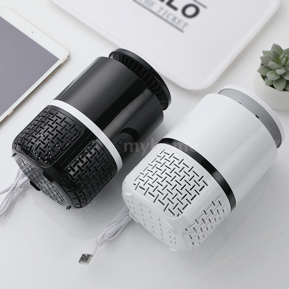 Lighting - Electric Mosquito Killer with Trap Lamp Chemical-Free USB Powered UV LED Light Photocatalyst Fly - BLACK-LARGE / WHITE-LARGE / WHITE-SMALL / BLACK-SMALL