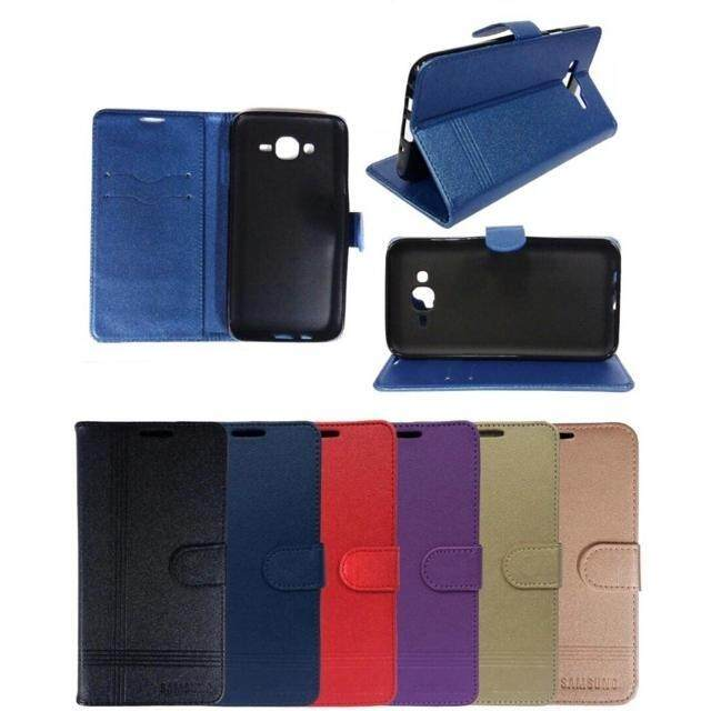 READY STOCK ~ Samsung Tab 3V 7.0 T116 Pouch Bag Flip Cover Leather Pocket Case Stand Casing