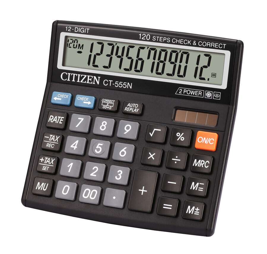 Citizen Calculator CT555N - 12 Digit