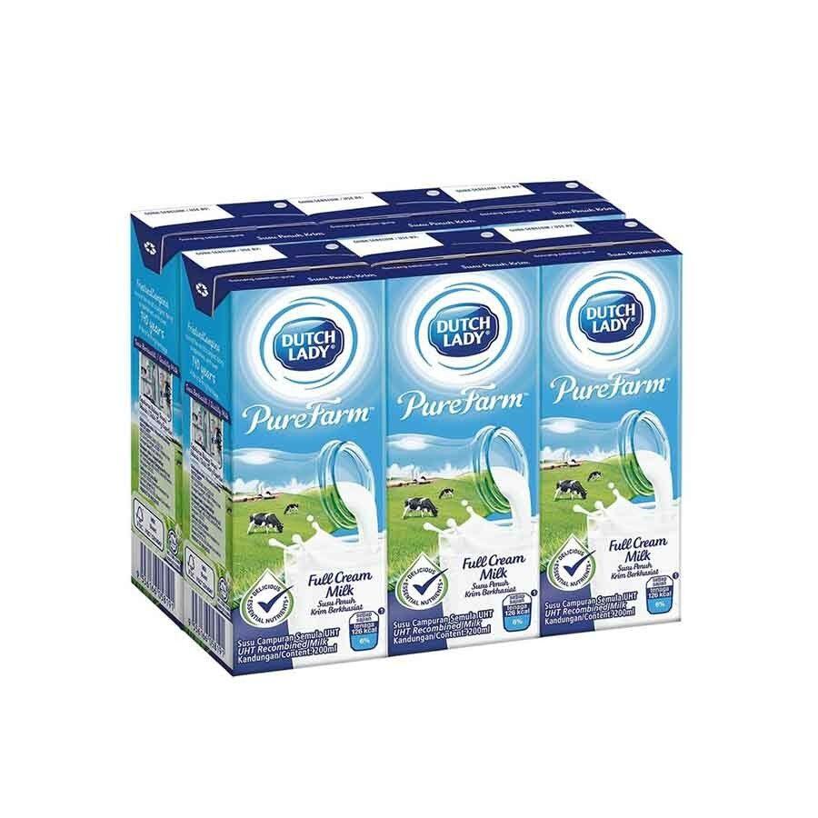 [FSC] Dutch Lady Uht Full Cream Milk 200ml x 24s