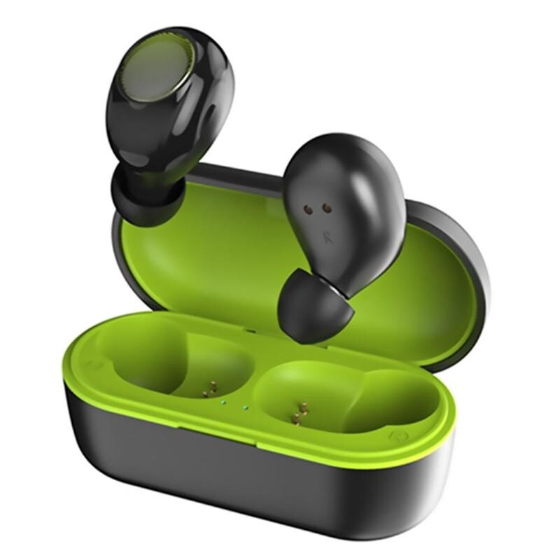 On-Ear Headphones - PT20 BLUETOOTH 5.0 Earphone Touch Waterproof WIRELESS Stereo Hifi Earbuds With Charging Case - BLUE / GREEN / BLACK / RED