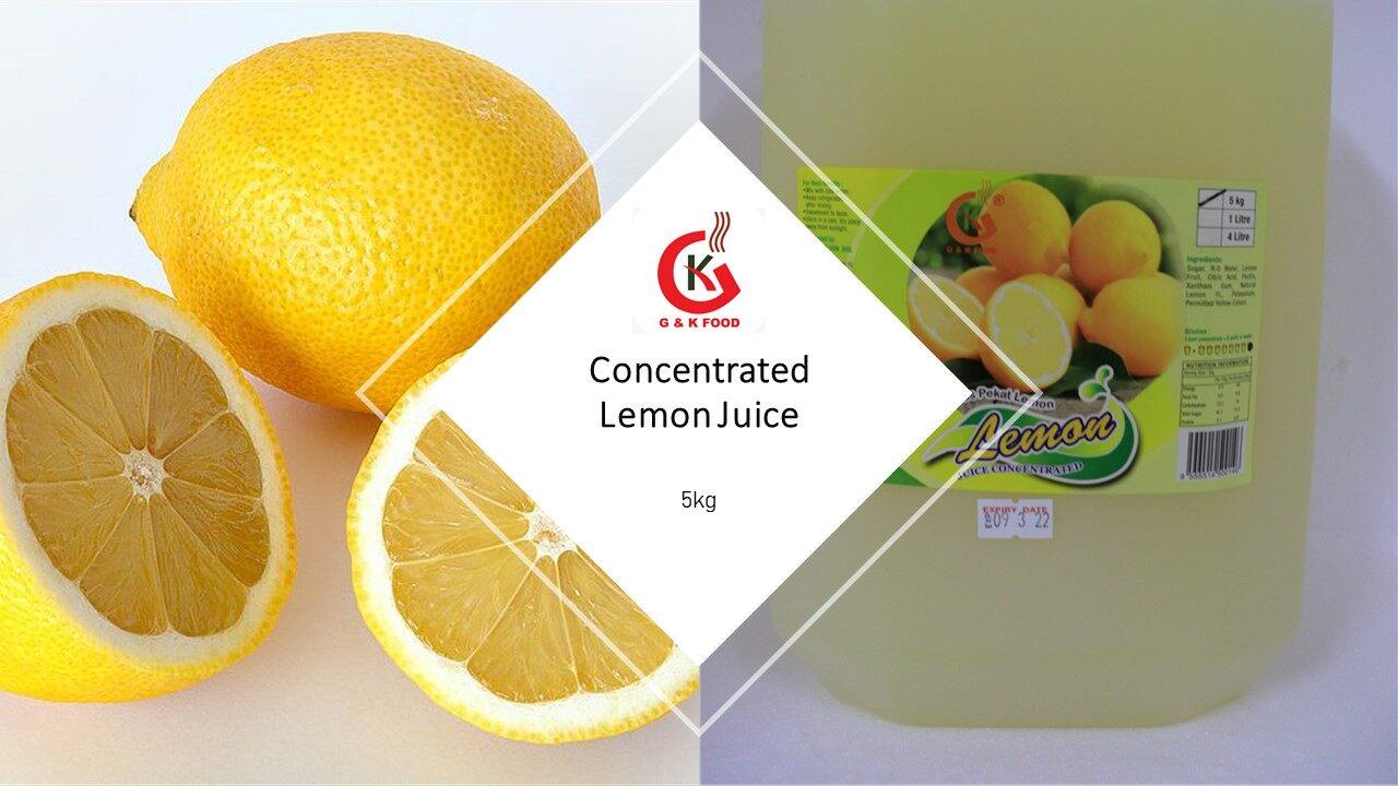 [100% JAKIM HALAL] 5KG Concentrate Lemon Juice