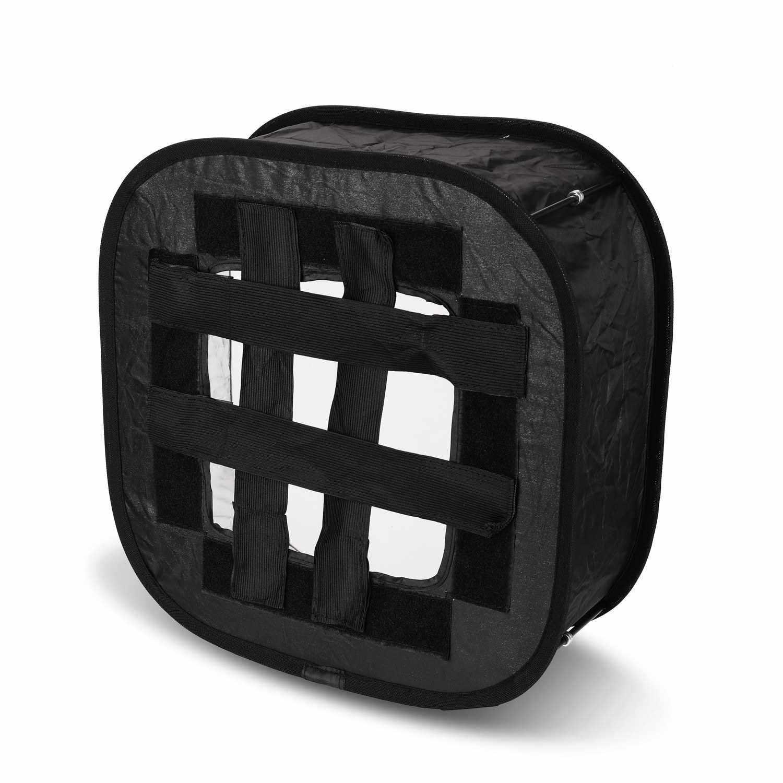Multifunctional 410mm Mini Portable Foldable Flash Diffuser Easy-fold Design Softbox for Flash Speedlite Soft Filter (Standard)