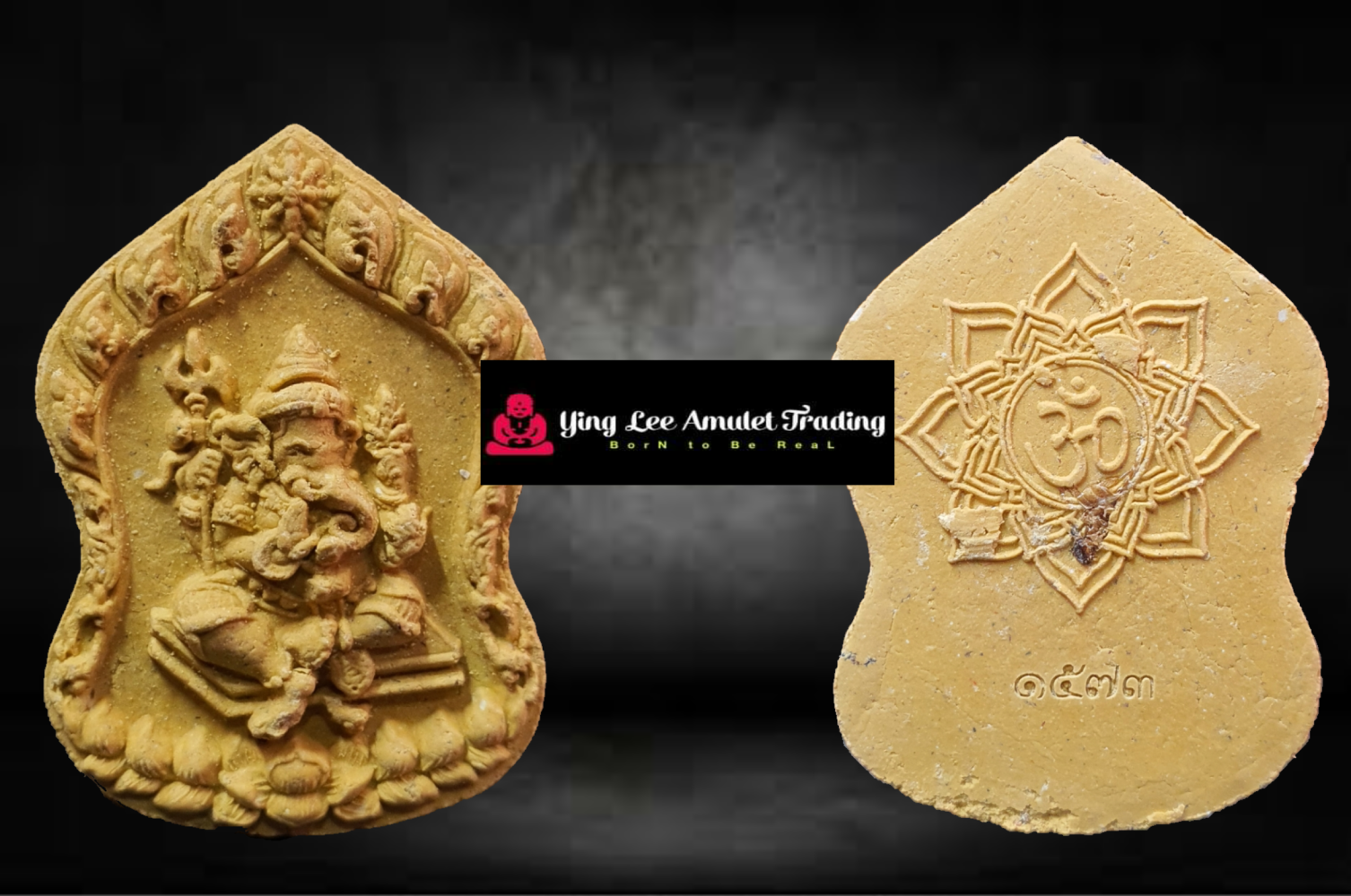 Phra Pikanet #God Of Wisdom#God Of Success LP Loy BE2562()
