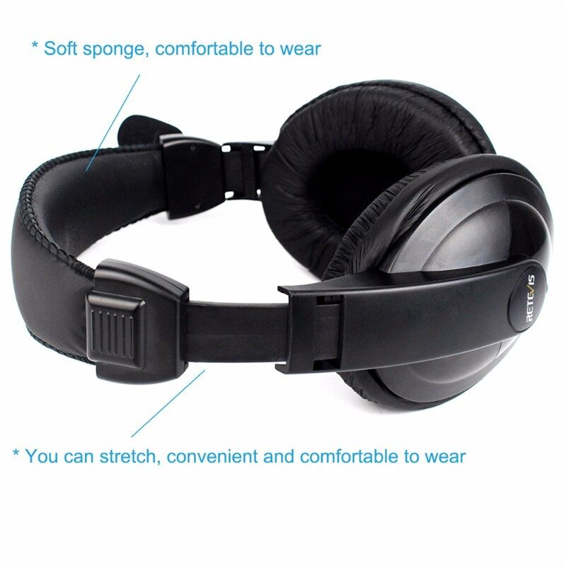 Over-Ear Headphones - 2 Pin Headphone Head SET Earpiece For KENWOOD BAOFENG - Audio