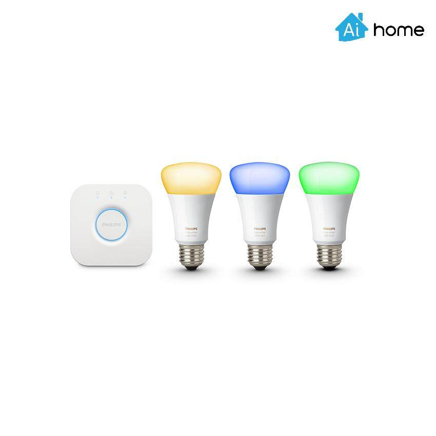 PHILIPS HUE STARTER KIT E27 WHITE AND COLOUR AMBIANCE