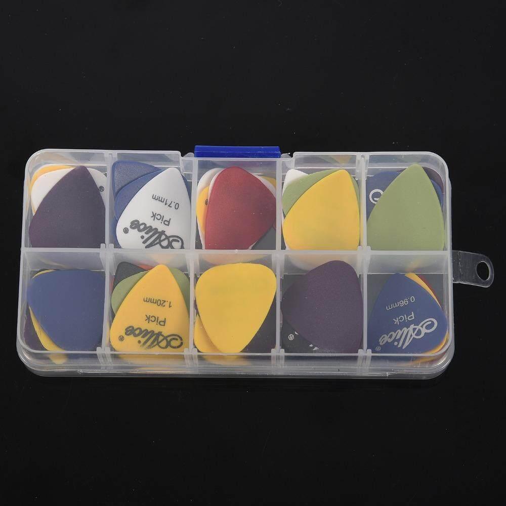 Acoustic Electric Guitar Picks Plectrum (Size:50PCS Color:MULTI-A)