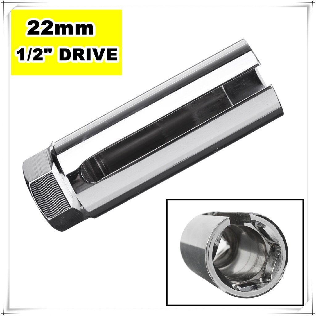 Moto Accessories - 7/8 22mm Lambda O2 Oxygen Sensor Socket Removal Tool Side Wire Cutout 1/2 Drive - Motorcycles, Parts