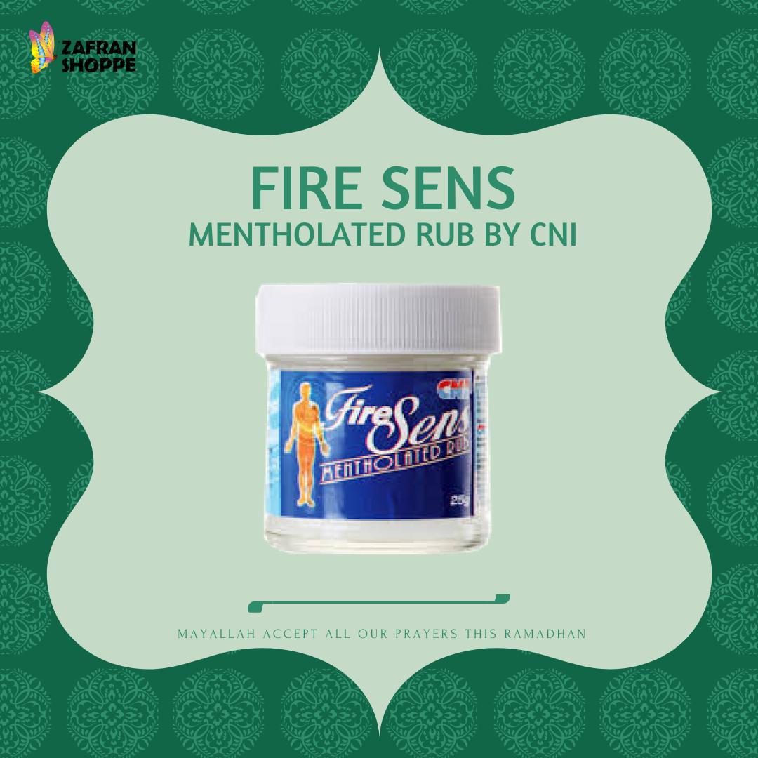 FIRE SENS MENTHOLATED RUB BY CNI