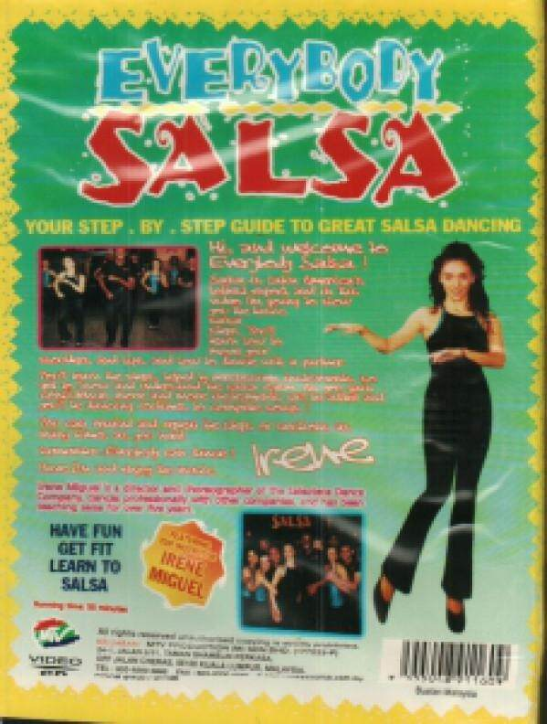 Everybody Salsa Irene Miguel VCD
