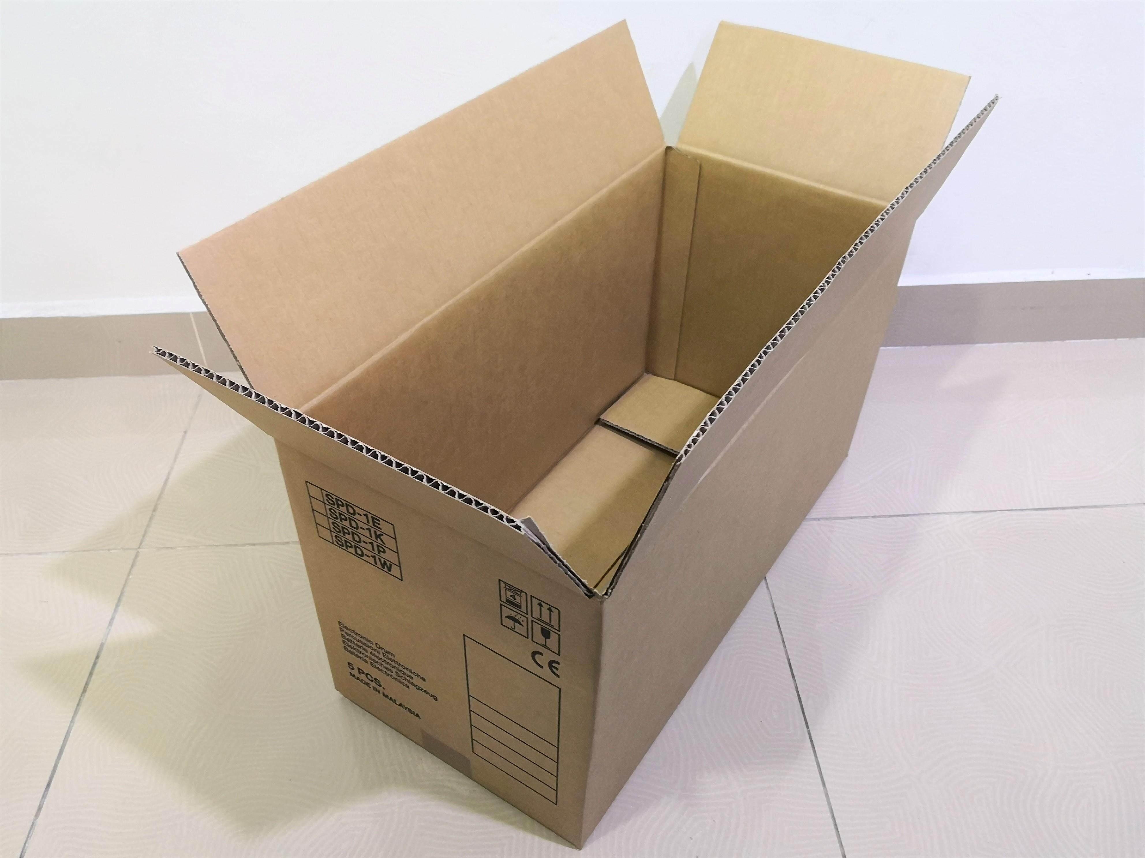 10pcs Printed Carton Boxes (L527 x W244 x H284mm)