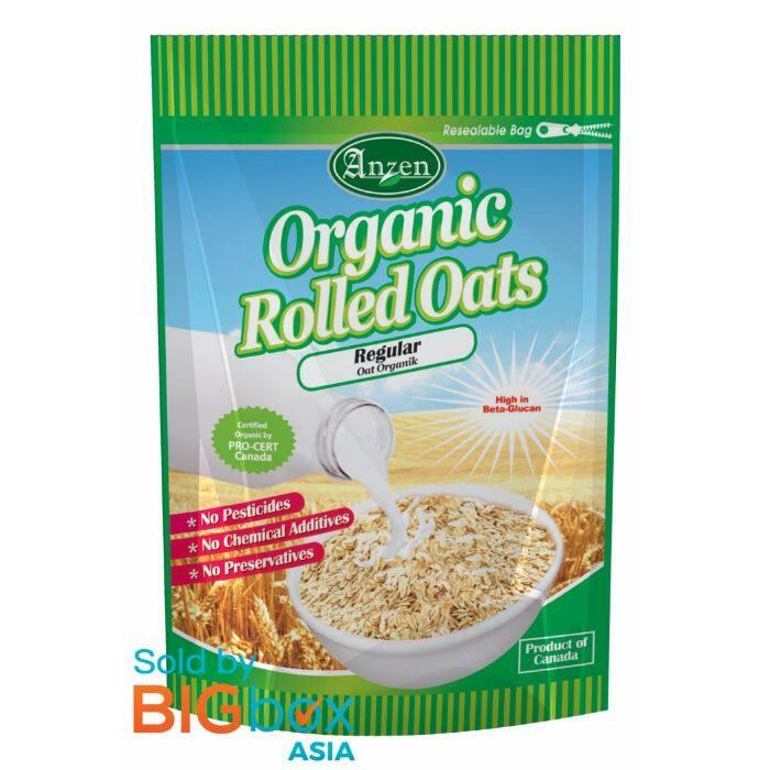 Anzen Organic Rolled Oats Regular 500g