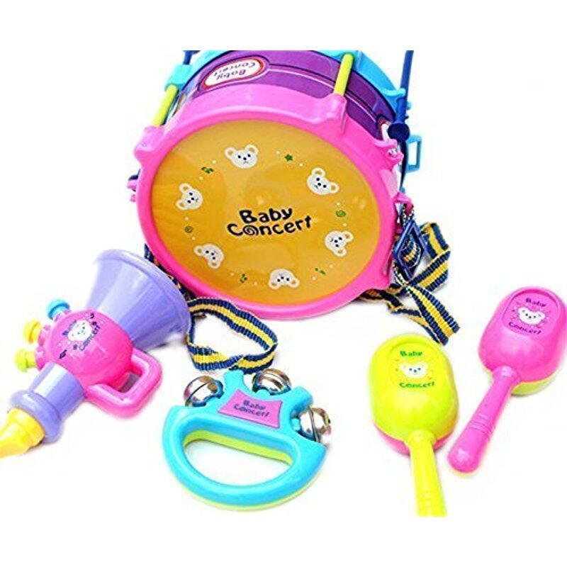 5pcs/set Children Jazz Drum Set Educational Instruments Toy