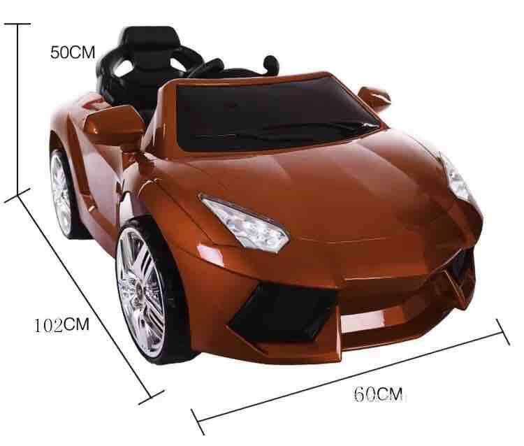 Good Quality Double Open Door 1-5 Years Old kids RC 2.4G Bluetooth Remote Control Toy Electric Ride On Music Car With Led light Toys for boys
