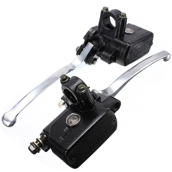 Moto Accessories - 7/8inch 14mm Motorcycle Brake Clutch Lever Master Cylinder - LEFT / RIGHT