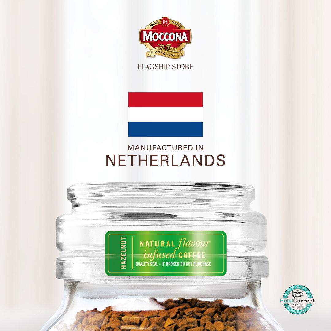 Moccona Hazelnut Swirl Instant Freeze Dried Coffee 95g x 1 Jar