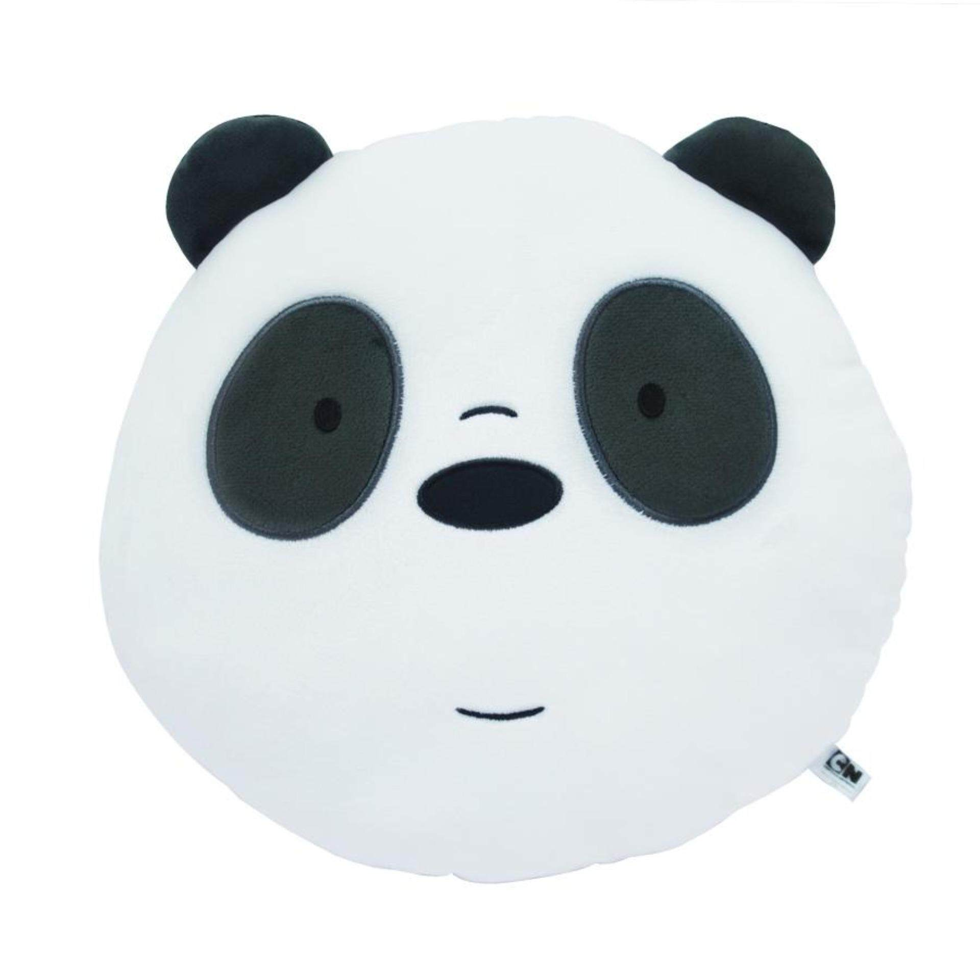 We Bare Bears Face Cushion - Panda