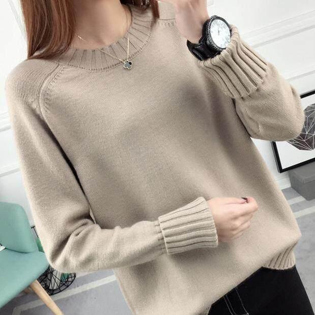 (Pre Order14 Days JYS Fashion Korean Style Women Knit TopCollection526-9860col525a-9860--Coffee-S