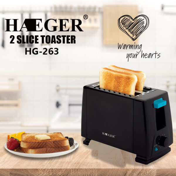 2 SLICE Toaster breakfast bread toaster