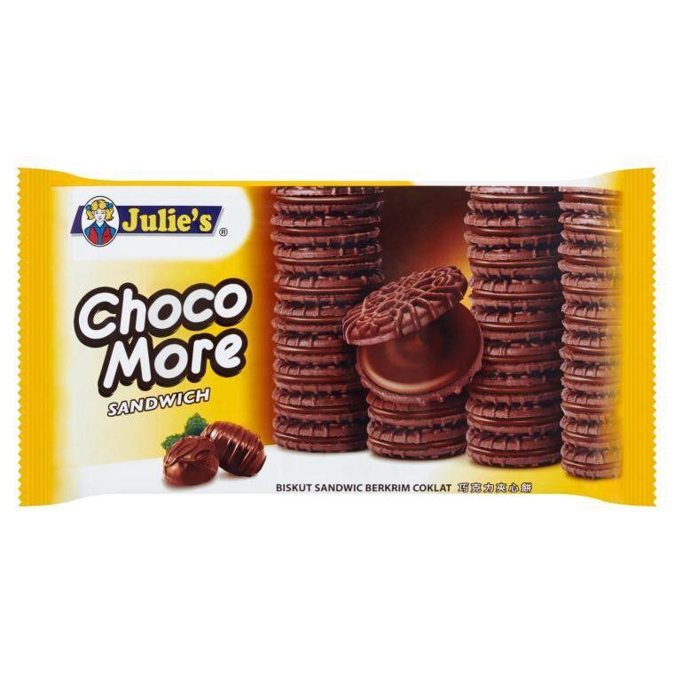 JULIE'S CHOCO MORE SANDWICH 160G