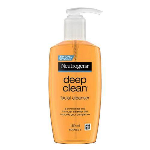 Neutrogena Deep Clean Facial Cleanser 150ml