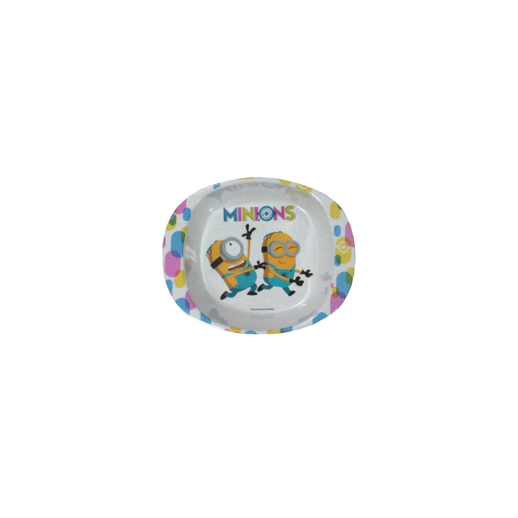 Despicable Me Minions 6.5 Inch Double Handle Children Melamine Bowl