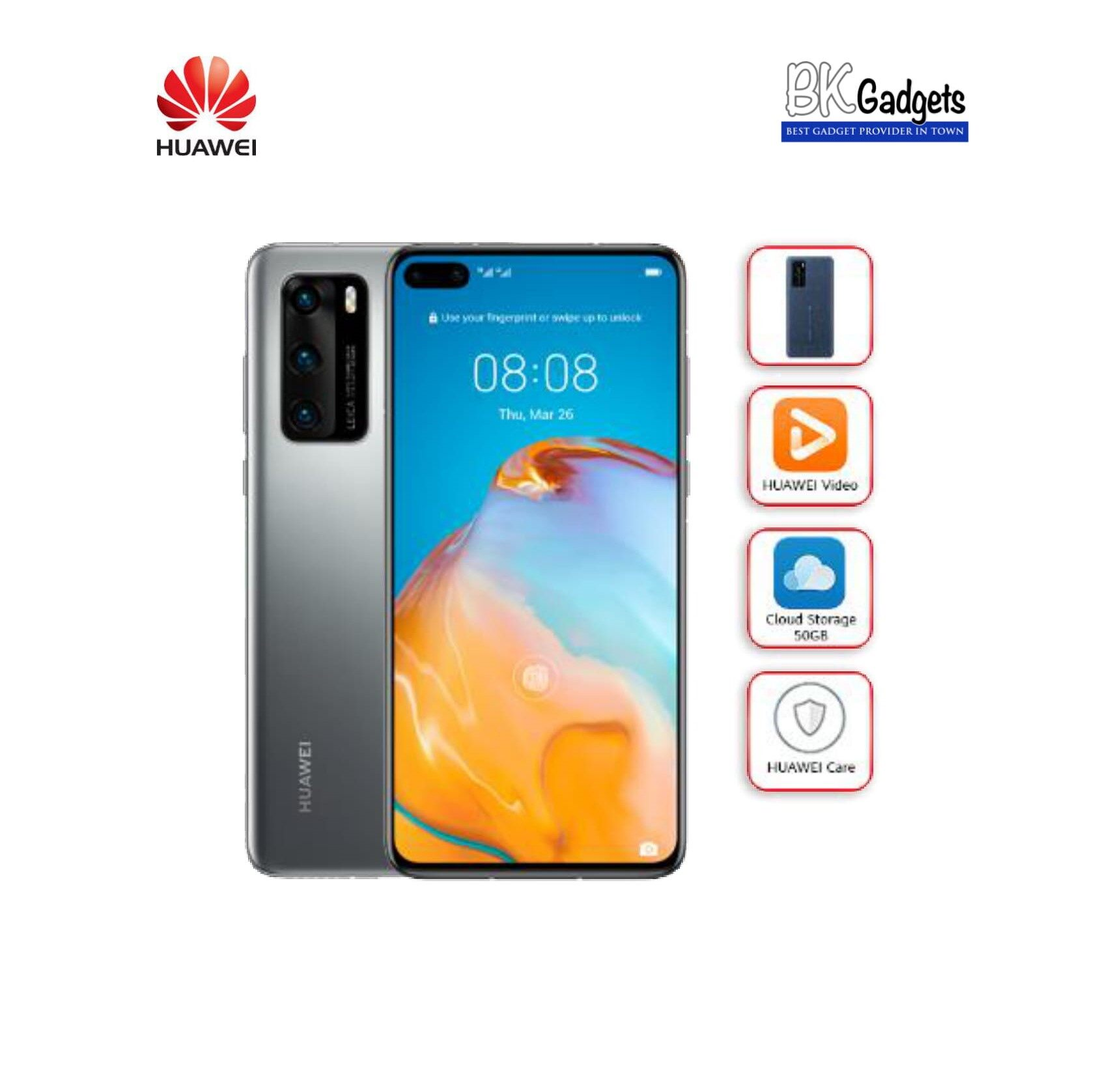 HUAWEI P40 Silver Frost [ 8GB + 128GB ] Smartphone
