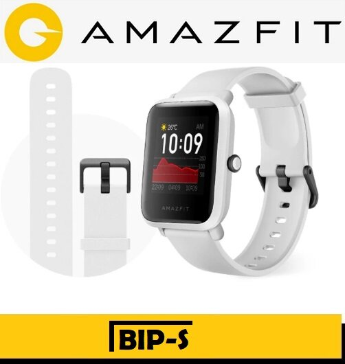 (Ready Stock, Global Version)Amazfit Bip S New Model Swimming Running GPS + GLONAS Sports Smart Watch Amazfit Malaysia Warranty