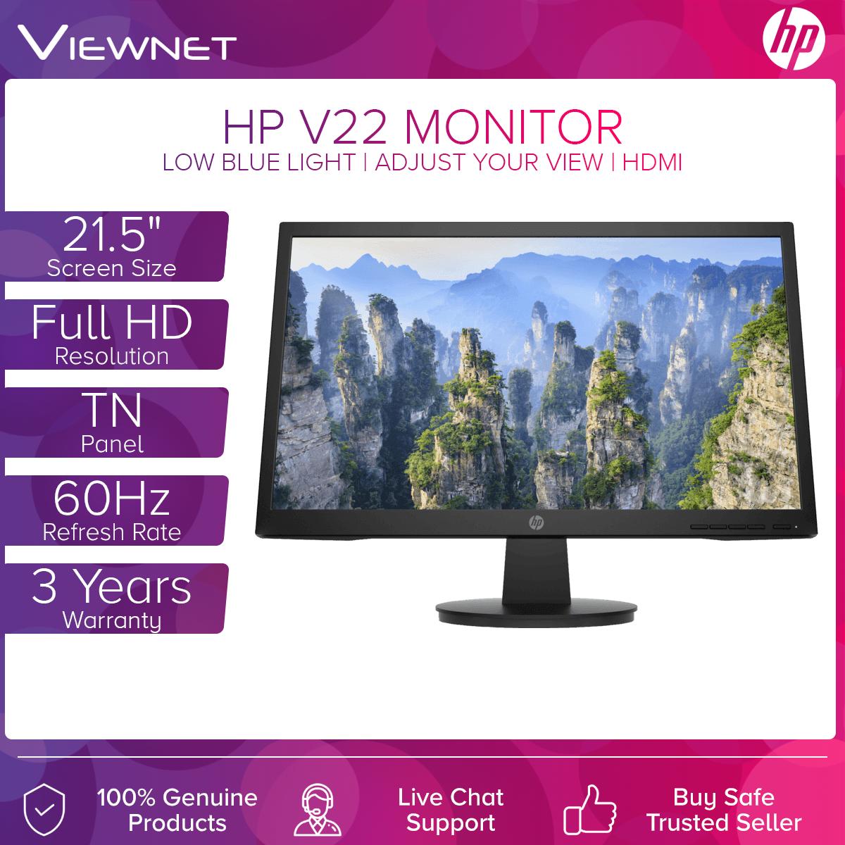 HP V22 FHD Monitor- 21.5