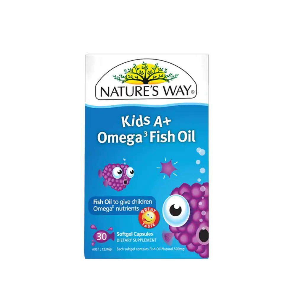 NATURE'S WAY KIDS A+ OMEGA 3FISH OIL 30S
