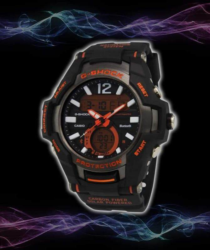 Sports Smart Collection Casio_G_SHOCK_Dual Display Watch For Men