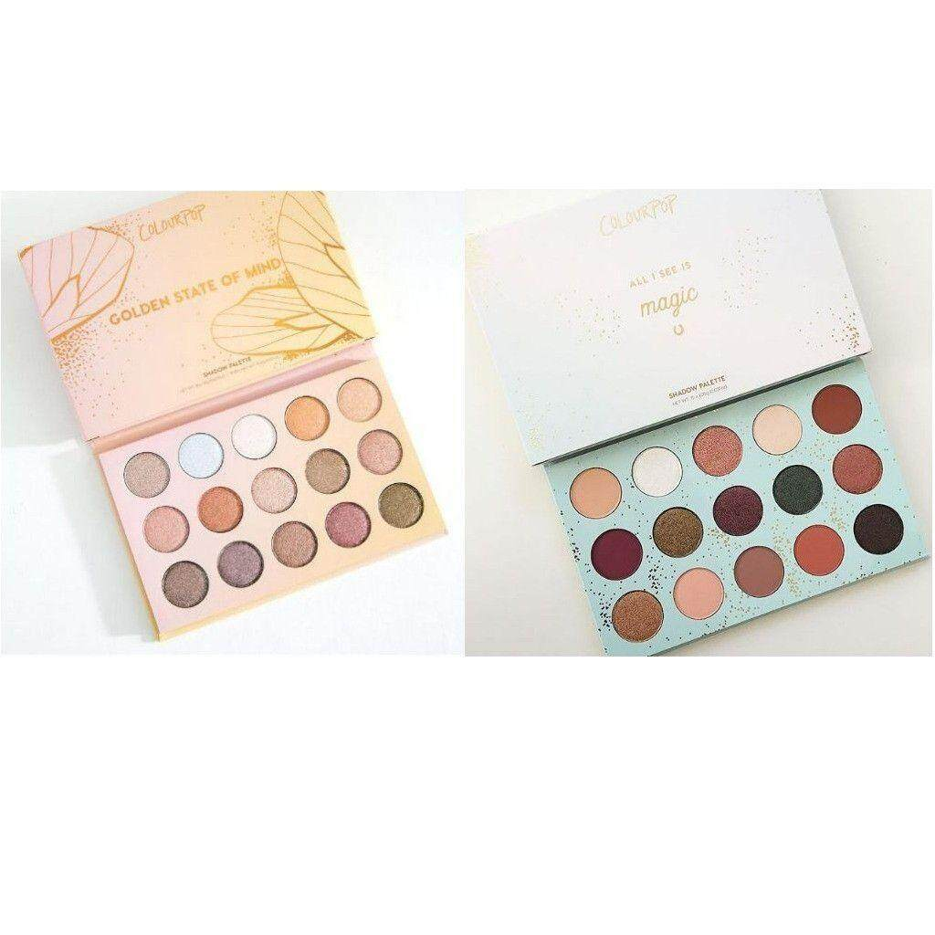FREE GIFTCOLOURPOP Eyeshadow Golden State Of Mind / All I See Is Magic READY STOCK