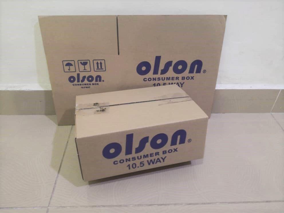8pcs Printed Carton Boxes (L265X W180 X H110mm)