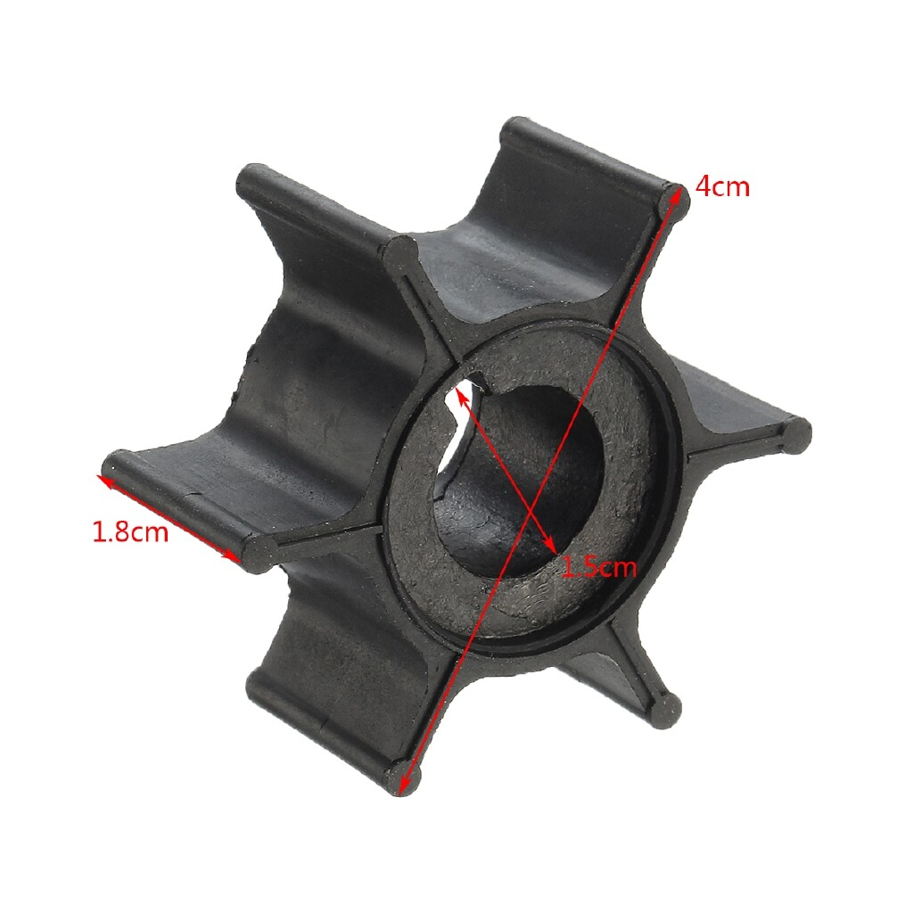 Moto Spare Parts - Water Pump Impeller For Yamaha 6/8HP Outboard Motor Boat 6G1-44352-00-00 18-3066 - Motorcycles, & Accessories
