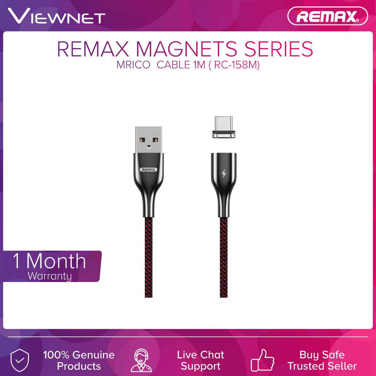 Remax (RC-158M) Micro Cable Magnet Series