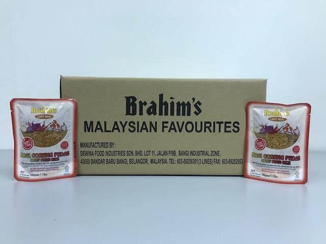 Brahim's Nasi Goreng Pedas 1 Karton (Spicy Fried Rice)