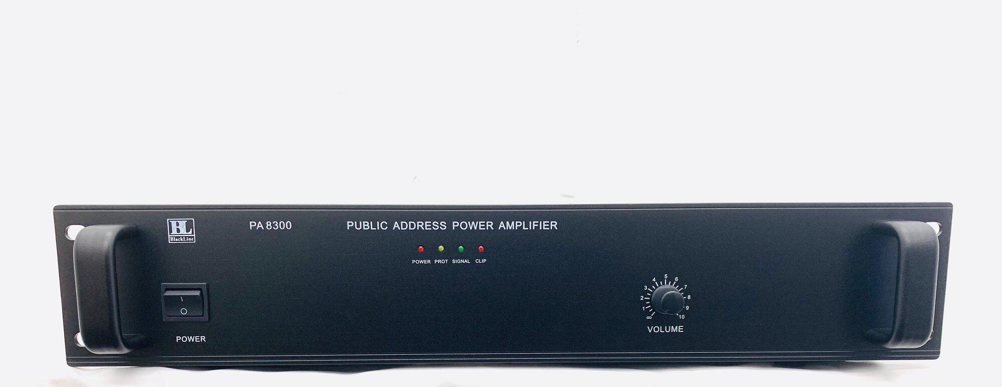 [Ready Stock]Blackline PA8300 300W Public Address PA System Power Amplifier