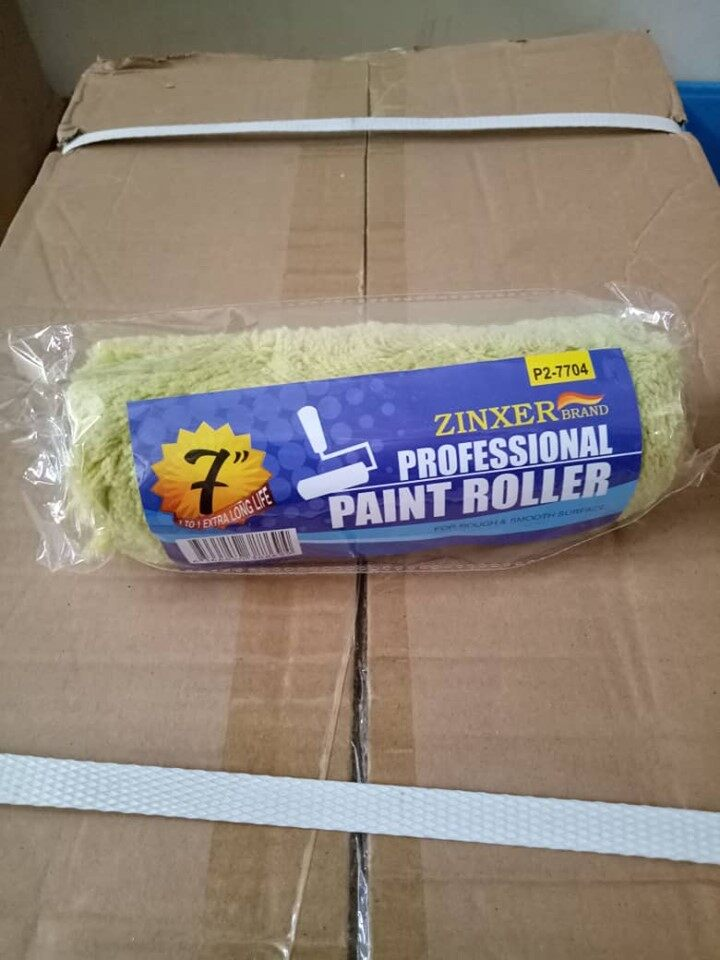 "7"" Paint Roller Slot-In (Green)"