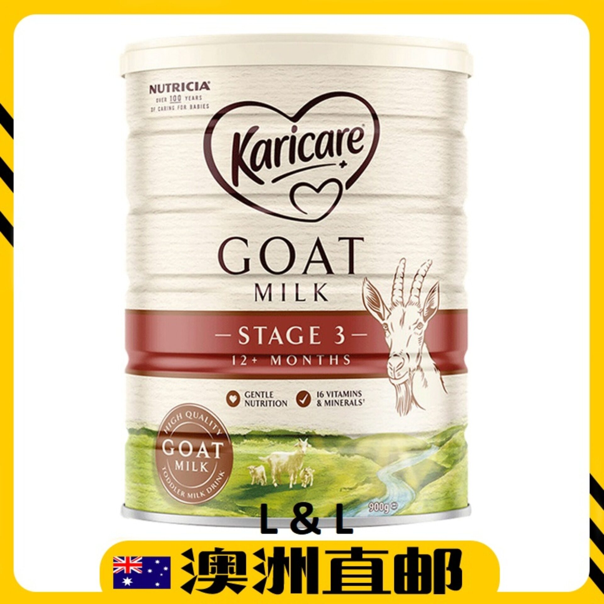 [Pre Order] Australia Import Karicare Goat Milk Step 3 ( 1 Years + ) 900g