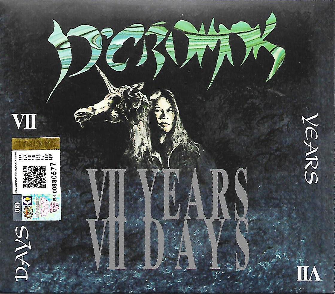 D\'Cromok VII Years VII Days CD Digipak Original New And Sealed