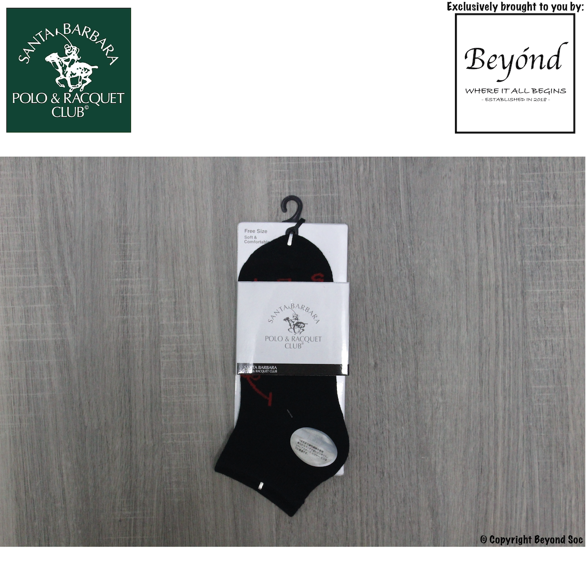 [Value Buy] Santa Barbara Polo & Racquet Club - Ankle Socks