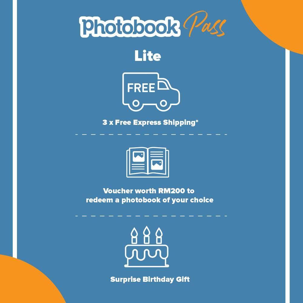 [e-Voucher] Photobook Pass: Lite Package