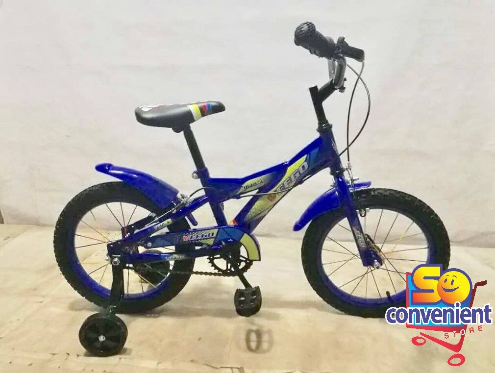 16  Veego Kids Bicycle 1640-A with Colour Spoke