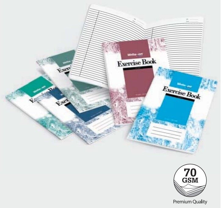 WRITE-ON CW2507 A4 120p 70gms EXERCISE BOOK x 10pcs