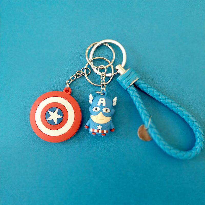 The Avengers and DC Comic Heros Key Chain with PVC material