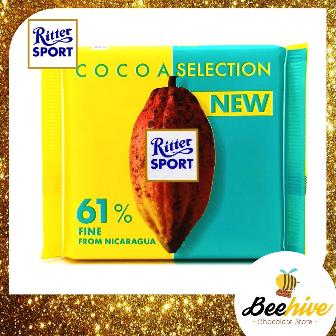 Ritter Sport Cocoa Selections 61% Fine Dark Chocolate from Nicaragua 100g