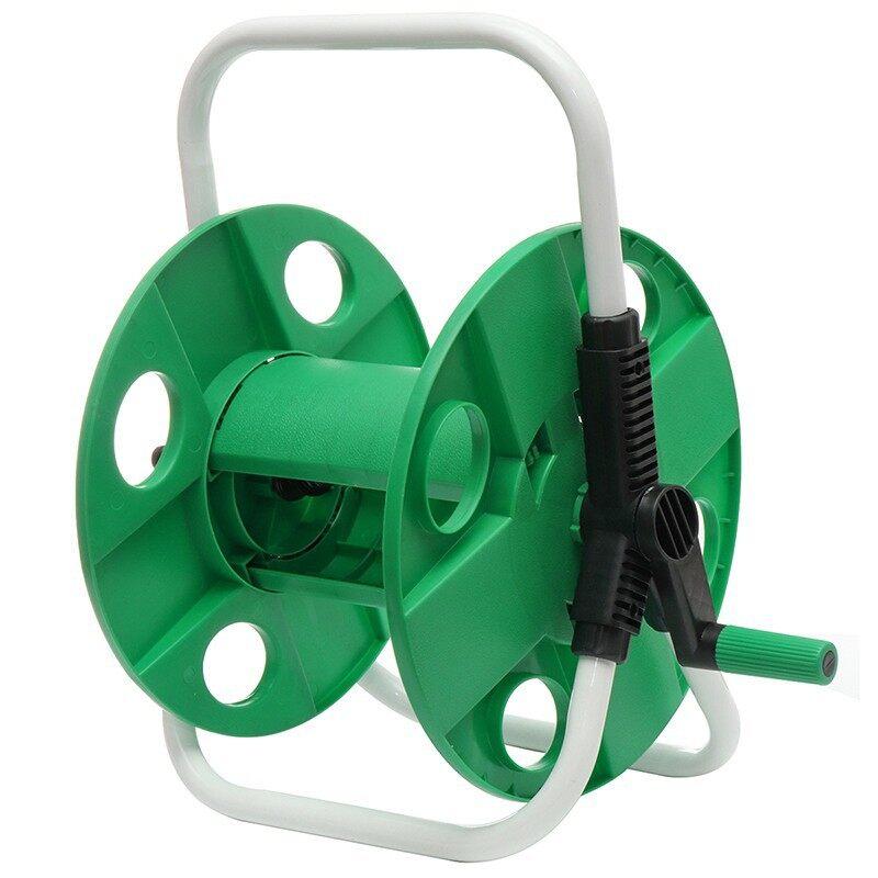 Wash & Wax - 45M PORTABLE Water Hose Reel Outdoor Garden Heavy Duty Yard Water Planting - Car Care