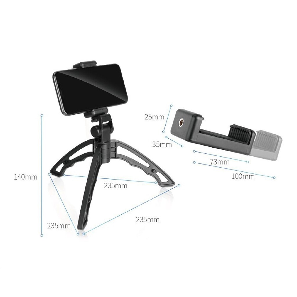 Phone Holder & Stand - Handheld Stabilizer Phone Grip Mount Holder Stand Recorder For iPh Canon Sony - Cases Covers