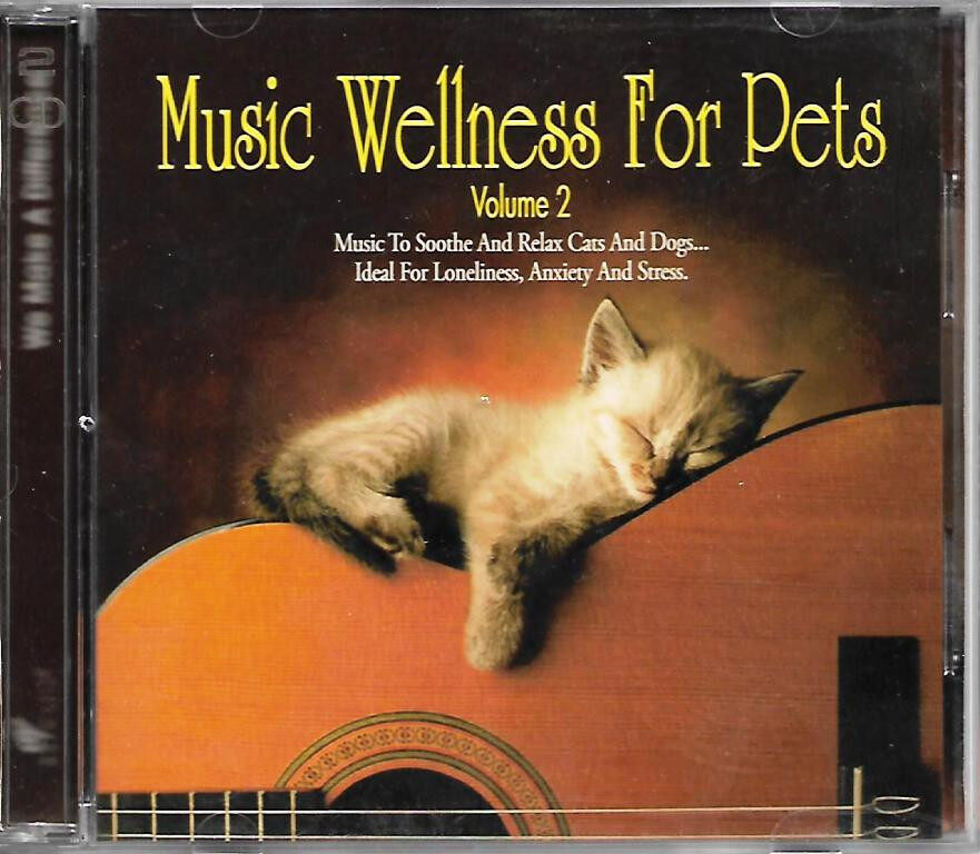 Music Wellness for Pets Vol.2 2CD Soothing Music For Cats And Dogs (Promotional Copy)